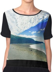 East Coast by Snow Chiffon Top