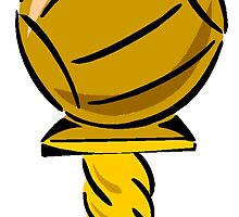 Basketball Trophy by kwg2200