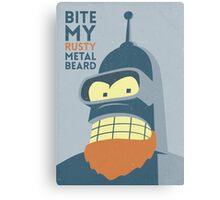 Rusty Beard Canvas Print