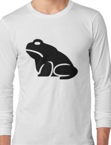 Toad Silhouette Long Sleeve T-Shirt