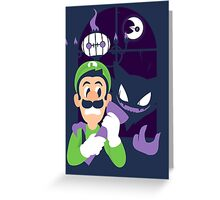 Haunter's Mansion Greeting Card