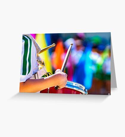 little drummer Greeting Card