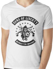 Hamilton- Sons of Liberty, Manhattan Original Mens V-Neck T-Shirt