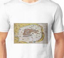 Vintage Map of Venice (1649)  Unisex T-Shirt