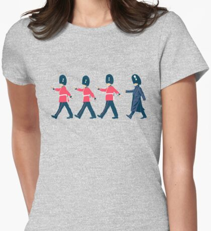 Off Guard Womens Fitted T-Shirt