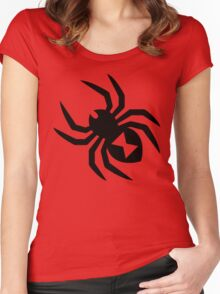 Spider Silhouette Women's Fitted Scoop T-Shirt