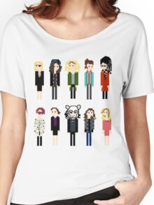 Pixel Clones - 10 Women's Relaxed Fit T-Shirt