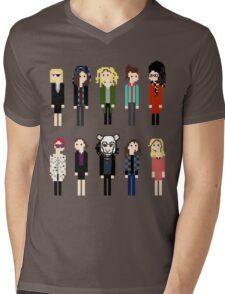 Pixel Clones - 10 Mens V-Neck T-Shirt
