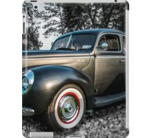 Flat Black Ford iPad Case/Skin