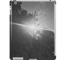 Black and White Sunlight by Snow iPad Case/Skin