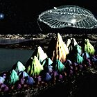 Arriving UFO by Keith Reesor