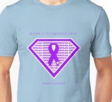 Fibromyalgia Signature Color Unisex T-Shirt