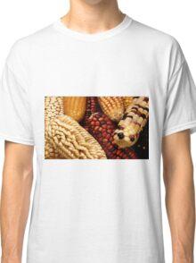 Dried up Fall Corn Classic T-Shirt