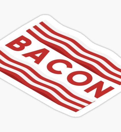 Bacon flag Sticker
