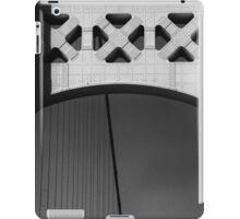 Mackinac Bridge Detail 10 BW iPad Case/Skin
