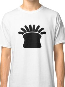 Sea Anemone Silhouette Classic T-Shirt