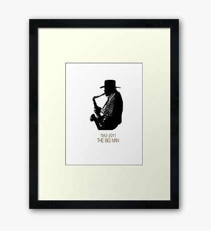 The Big Man Framed Print