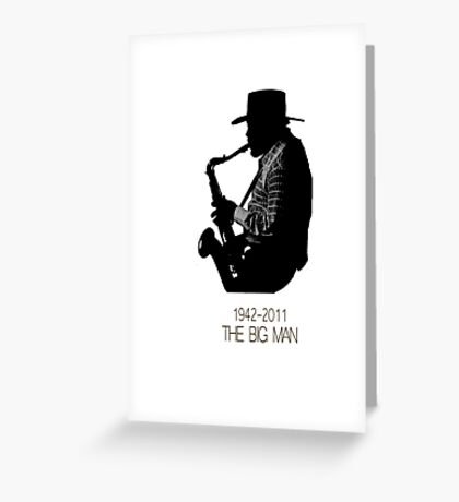 The Big Man Greeting Card
