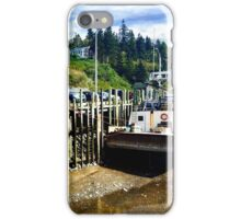 Halls Harbour NS 2 by Snow iPhone Case/Skin