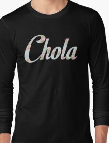 Chola Flores Long Sleeve T-Shirt