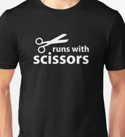Runs With Scissors Unisex T-Shirt