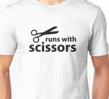 Runs With Scissors Unisex T-Shirt