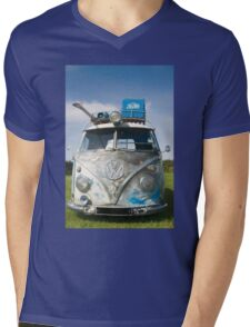 VW Camper Van Mens V-Neck T-Shirt