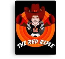 The Red Rifle Canvas Print