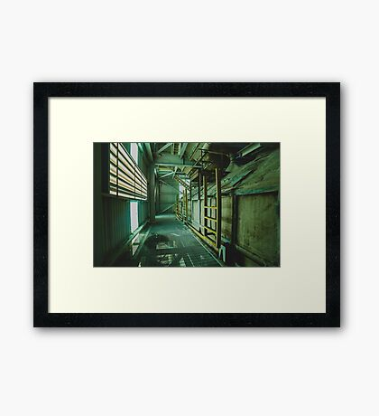 Abandoned Phosphate Mine Framed Print