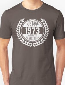Vintage 1973 Aged To Perfection T-Shirt