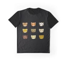 Clutter of Cats Graphic T-Shirt