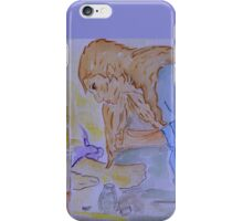 She has done a Beautiful Thing for Me. iPhone Case/Skin