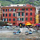 All About Italy. Piece 10 - Vernazza Houses by Igor Shrayer