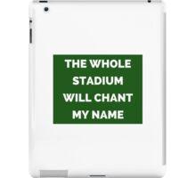 The Whole Stadium Green iPad Case/Skin