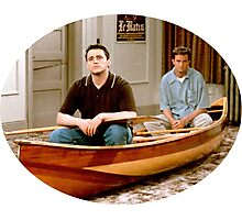Chandler Bing Joey Tribbiani Friends Photographic Print
