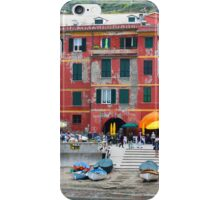 All About Italy. Piece 10 - Vernazza Houses iPhone Case/Skin