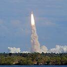 Liftoff: Space Shuttle Atlantis by Ben Waggoner