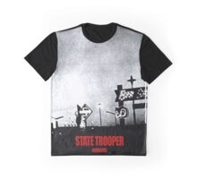 State Trooper Nebraska Graphic T-Shirt