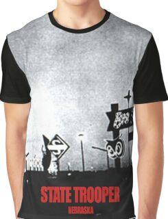 State Trooper Nebraska Graphic T-Shirt