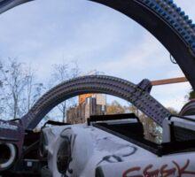 Six Flags Joker's Jukebox Sticker