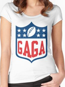 Gaga Superbowl Halftime Show Women's Fitted Scoop T-Shirt