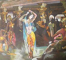 Amrapali The Great Dancer-Buddha Period in Bharat  by Nandika-Dutt