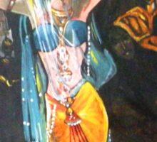 Amrapali The Great Dancer-Buddha Period in Bharat  Sticker