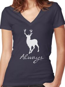 HP-always Women's Fitted V-Neck T-Shirt