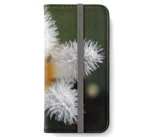 White flower iPhone Wallet/Case/Skin