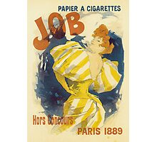 Cheret - Job Cigarette Photographic Print