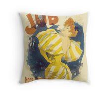 Cheret - Job Cigarette Throw Pillow