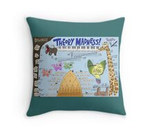 Theory Madness! Throw Pillow