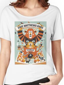 Dave Matthews Band, The Gorge Amphitheatre George WA Women's Relaxed Fit T-Shirt