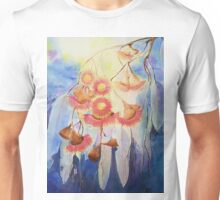 Gum blossoms in pink Unisex T-Shirt
